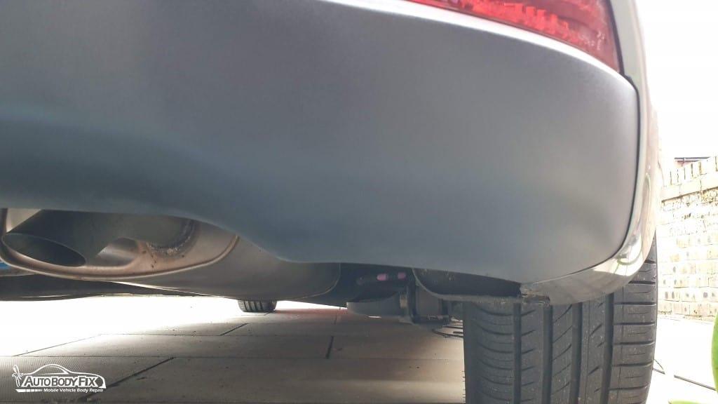 Completed Plastic Bumper Repair